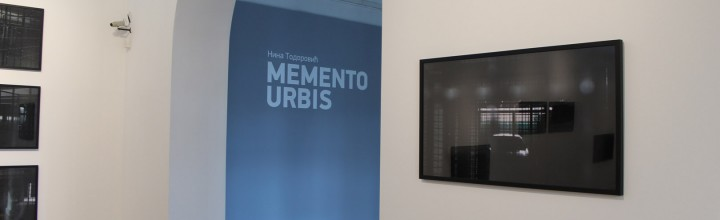 Nina Todorović – MEMENTO URBIS, solo exhibition at MSURS – video